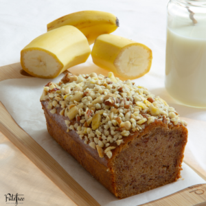 Banana bread vegan sans gluten | hotel restaurant paris fournisseur